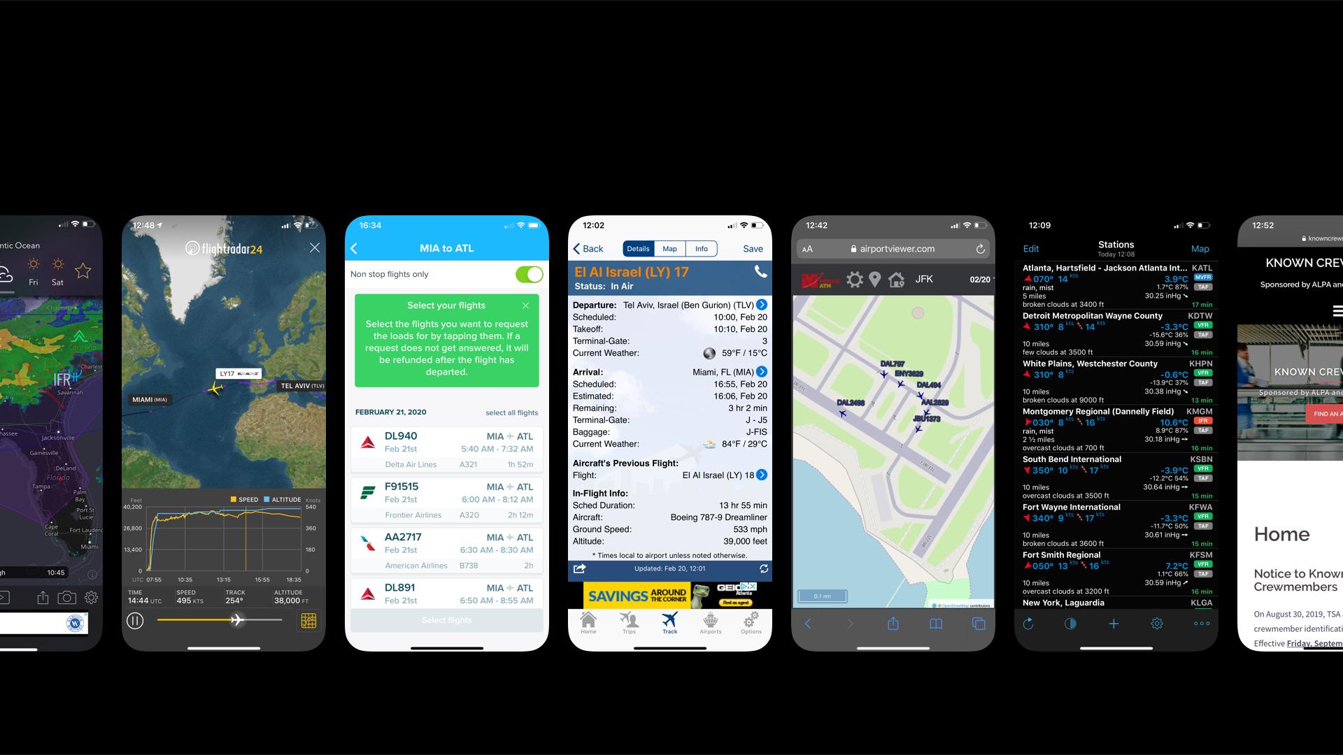 7 אפליקציות חובה לטייסים שנוסעים צריכים להכיר